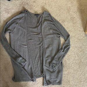 LOWEST BNWOT AEO grey cardigan
